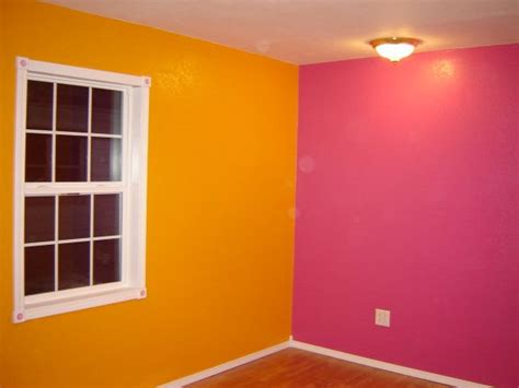 orange and pink rooms bright pink and orange bedroom