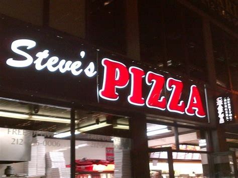 steves pizza  york city financial district