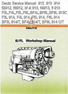 Details About Deutz 912 913 914 F2l912 F3l912 Bf 4l 913