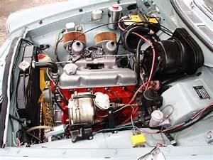 Volvo Amazon 122 S 1965 Engine