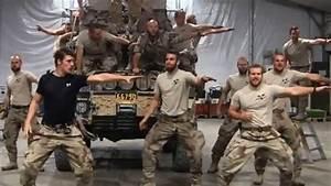 Swedish Marines' Greased Lightning Dance Parody (Video)