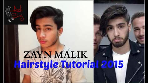 zayn malik hairstyle tutorial  mens hair trends