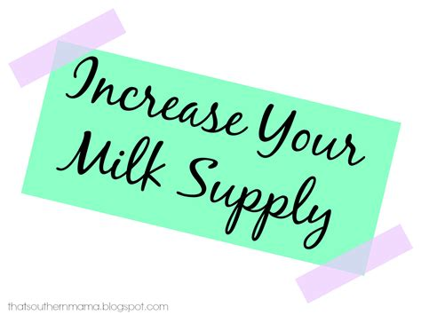 Mamas Blessed Increase Your Milk Supply