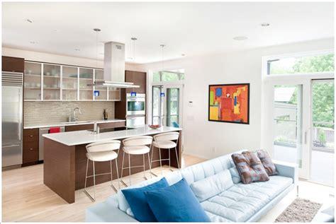 Large Kitchen Islands - 9 načina da pametno spojite kuhinju i dnevnu sobu