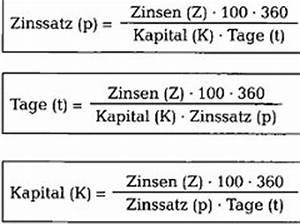 Zinsen Berechnen Tage Formel : zinsrechnen richtig verstehen kaufm nnisches rechnen 123 versicherung ~ Themetempest.com Abrechnung