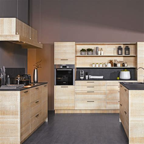 deco cuisine bois clair cuisine moderne couleur bois cuisine cuisine moderne en
