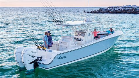 Offshore Boats Videos by Mako Boats 334 Cc Bluewater Family Edition Offshore