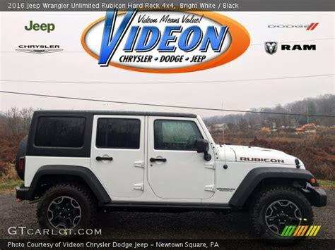 2016 Jeep Wrangler Unlimited Rubicon Hard