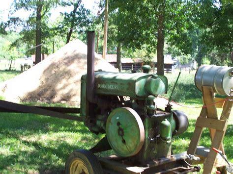 John Deere W Power Unit and Vance Circular Sawmill