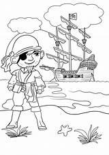Pirate Colouring Pages Coloring Printable Pirates Ships Treasure Kleurplaten Ship Sheets Intheplayroom Map Nl Topkleurplaat Piraten Cartoon Disney Did Playroom sketch template