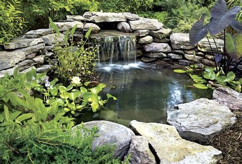 small pond waterfall designs small pond ideas with waterfall pool design ideas