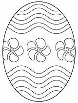 Easter Egg Coloring Eggs Printable Printables Crafts Flowers Patterns Wavy Spring Bunny Colouring Counseling Lines Hubpages Template Icolor Colorful Embroidery sketch template