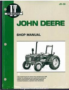 John Deere 2150  U2013 2555 Tractor Workshop Manual   Jd