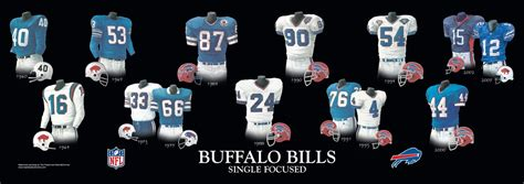 buffalo bills uniform  team history heritage uniforms