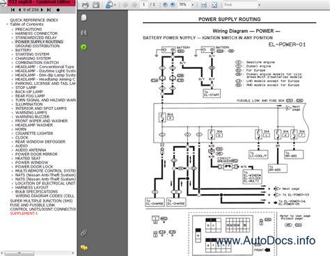 nissan pickup  series repair manual order