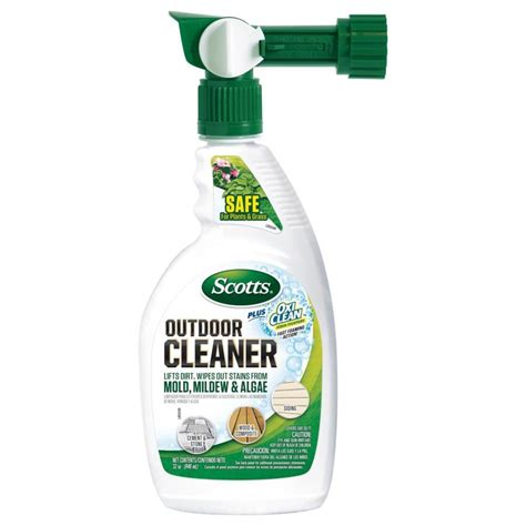 scotts outdoor cleaner  oxi clean ready  spray
