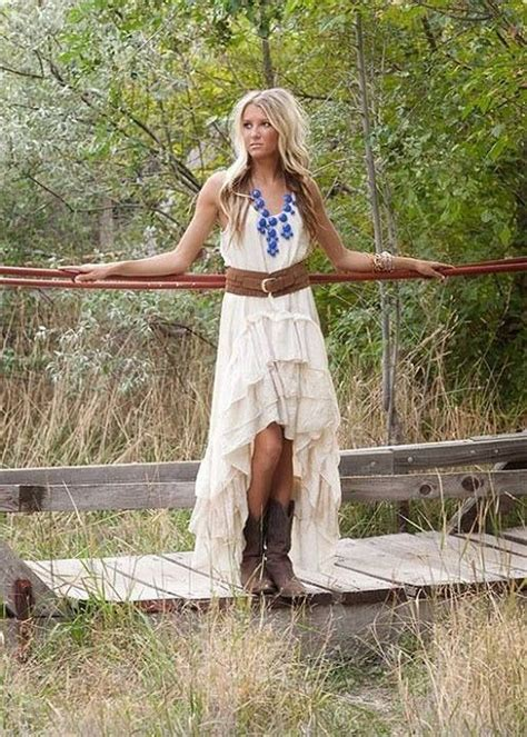 Western Bridesmaid Dresses On Pinterest  Western Wedding