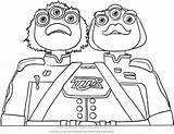 Coloring Miles Tomorrowland Disney Watson Crick Junior Drawing Getdrawings sketch template