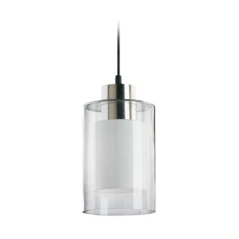 kitchen island or cart modern mini pendant light with cylinder glass
