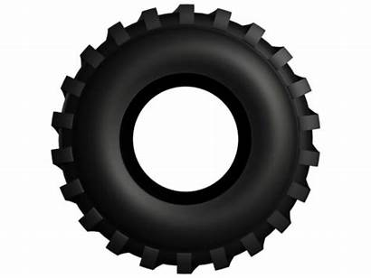 Tire Tractor Clip Clipart Truck Mud 3d