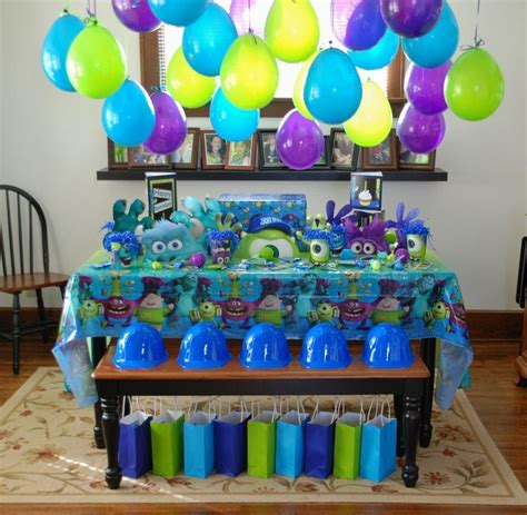 monsters  birthday party decorations  party