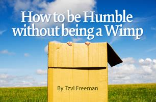 how to be humble without being a wimp contemporary voices