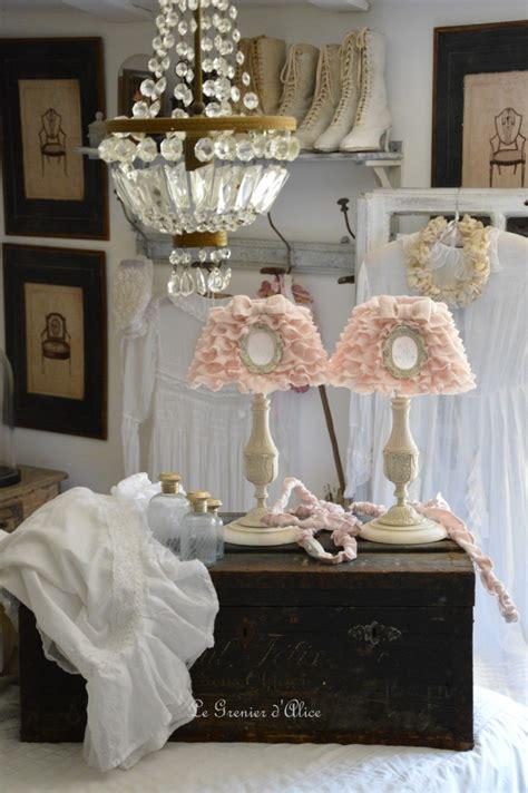 abat jour romantique chambre le grenier d 39 shabby chic et romantique decor