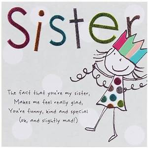 Tinklers SISTER Birthday Card   j   Pinterest