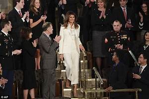Melania heads to State of the Union without Trump   Daily ...