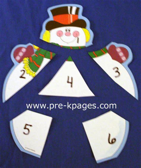 winter theme activities for preschool 701 | math snowman4