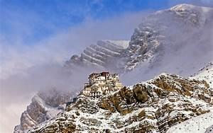 The Key Monastery In Winter
