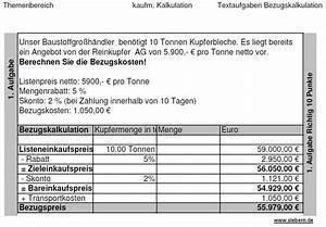 Wish Auf Rechnung : bezugskalkulation 2 teil ~ Themetempest.com Abrechnung
