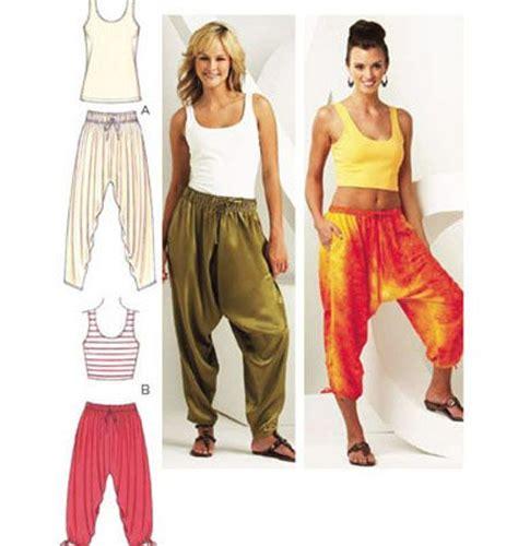 easy harem pants pattern  patterns