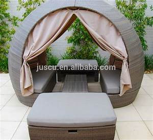 Lounge Sofa Mit Dach : rattan round outdoor lounge bed outdoor furniture daybed round daybed with canopy outdoor ~ Bigdaddyawards.com Haus und Dekorationen