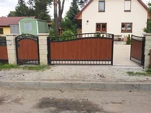 Zäune Aus Polen Kunststoff : hoftore fotogalerie metallz une aus polen ol mar ~ Markanthonyermac.com Haus und Dekorationen