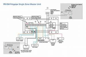 Single Zone Master Control Unit  Pb1zm