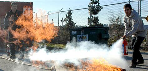 fire extinguisher training city  vancouver