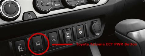 toyota ect button work