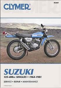 Suzuki 125cc - 400cc Singles 1964