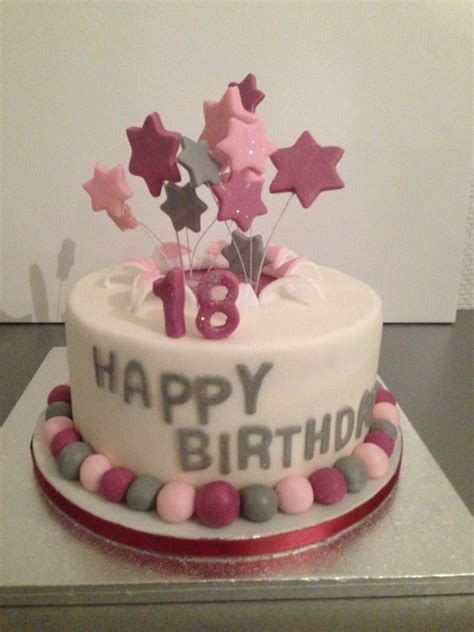 fondant torte 18 geburtstag pin auf cakes