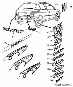 Monogramme Peugeot : pieces peugeot pour la faq photos page 20 206 peugeot forum marques ~ Dode.kayakingforconservation.com Idées de Décoration