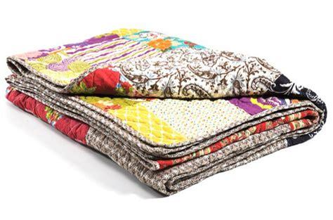 plaid patchwork en coton ottawa plaids pas cher declik deco