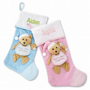 Baby, First, Christmas, Stockings