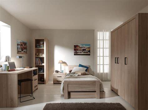 chambre complet chambre enfant complète contemporaine chêne clair blandine