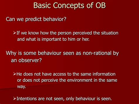 We Predict The Key Looks For: Basic Concepts Of Organisational Behaviour