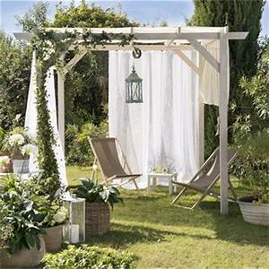tonnelle pergola toiture de terrasse leroy merlin With tente de jardin leroy merlin 3 comment faire soi meme une petite tente de jardin en