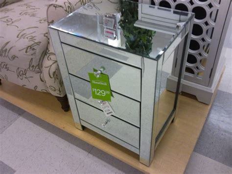 home goods end tables mirrored end table homegoods bedroom pinterest