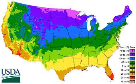 Usda Hardiness Zone Map