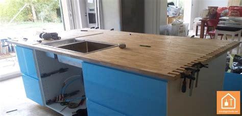 un plan de travail en bois massif 224 petit prix bricolage facile