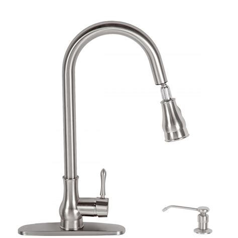no water from kitchen faucet kitchen faucet swivel pull out faucet single handle spout